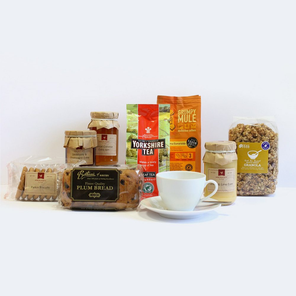 Hinchliffe's Afternoon Tea & Coffee Hamper