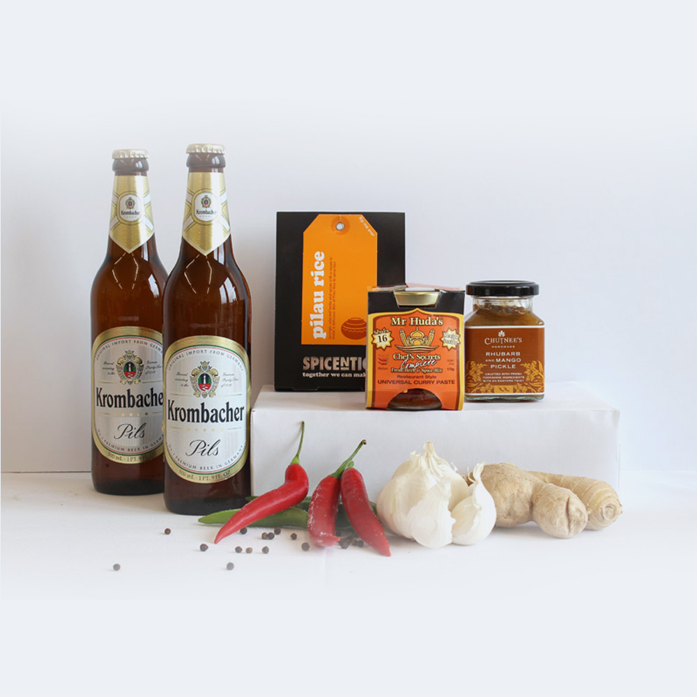 Hinchliffe's Curry & Beer Lover's Hamper