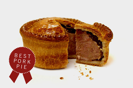 Multiple award winning pies available at Hinchliffe's