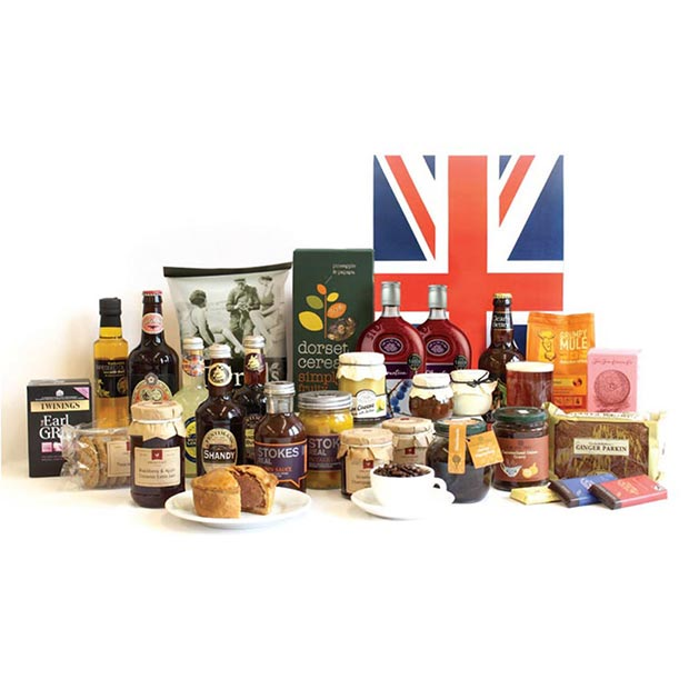 Hinchliffe's Best of British Luxury Hamper