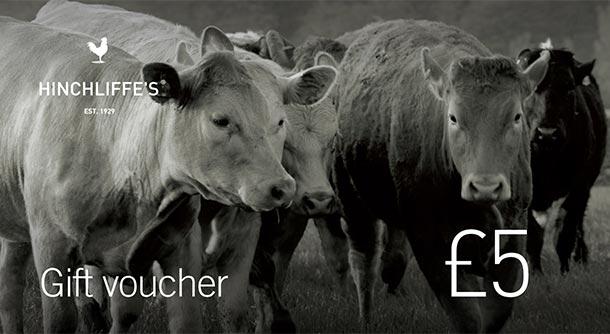 Hinchliffe's £5 Gift Voucher
