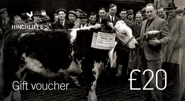 Hinchliffe's £20 Gift Voucher