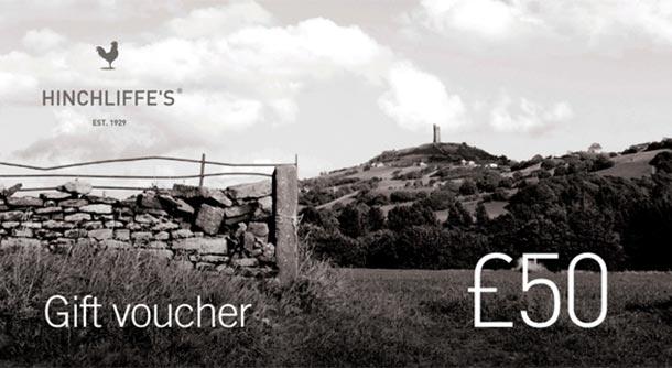 Hinchliffe's £50 gift voucher