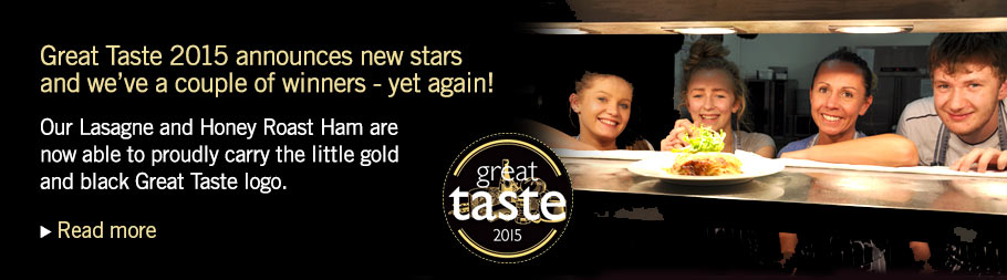 Great Taste Award - 3 Stars Winner