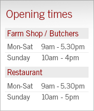 Farm shop now fully open!