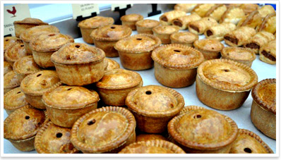 Home-made award-winning pies