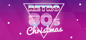 RETRO 80'S CHRISTMAS PARTY 3 Course festive dinner,<br>Christmas crackers, disco with DJ,<br>fancy dress welcome.<br>Friday 14th December