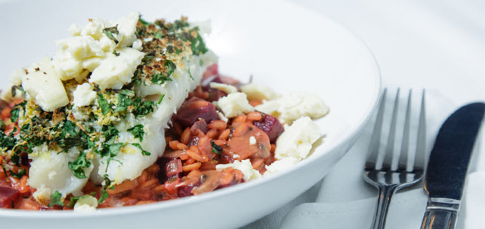 LATEST RECIPE Meaty East Coast Cod topped with a golden brown herby, zesty Gremolata